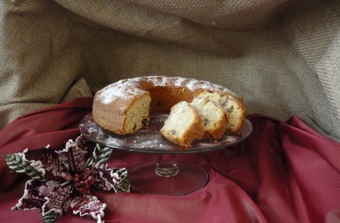 Wintertulband, heerlijke cake verrijkt met vruchten en noten