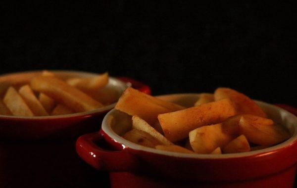 Aardappelfrieten uit oven